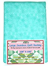 Quilt Backing, Large, Seamless, from AQCO, Turquoise, C49795-500