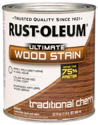 RUST-OLEUM 260151 Quart Traditional Cherry Wood Stain