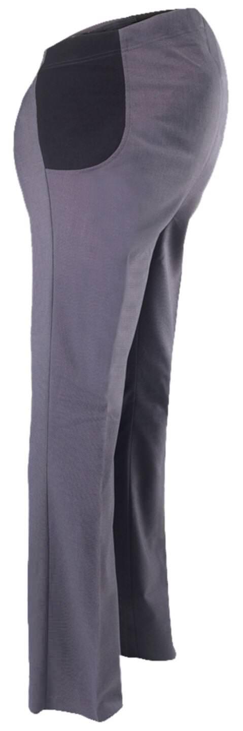 Alexandra Womens Icona Bootleg Maternity Trousers by Charcoal - 20U