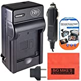 BM Premium EN-EL15 Battery Charger for Nikon 1 V1, D500, D600 D610, D750, D800, D810, D810A, D7000, D7100, D7200 Digital SLR Camera + More!!
