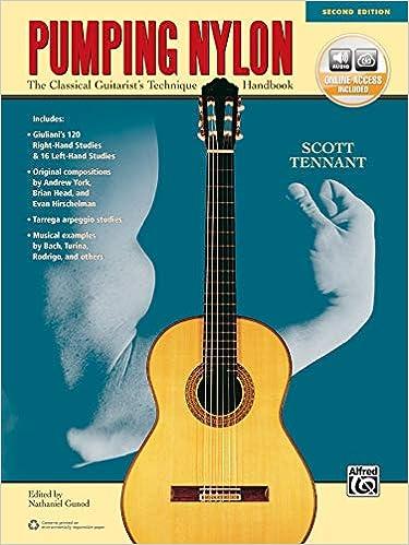 Pumping Nylon: The Classical Guitarists Technique Handbook, Book ...