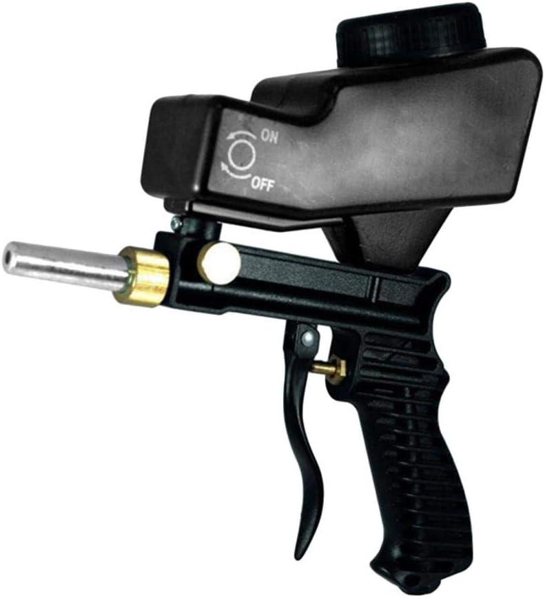 luminiu Composite Air Sand Blaster, Sandblaster Air sifón Kit con Pistola de Chorro de Arena Air Siphon con Arenado Abrasivo para pulverizador de Bomba y máquina de pulverización sin Aire