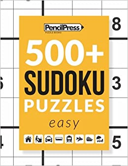 500 Sudoku Puzzles Book Easy Sudoku Puzzle Book Easy With Answers