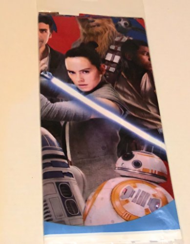 American Greetings Star Wars Episode 8 Plastic Table Cover, Tablecover, 1-Count