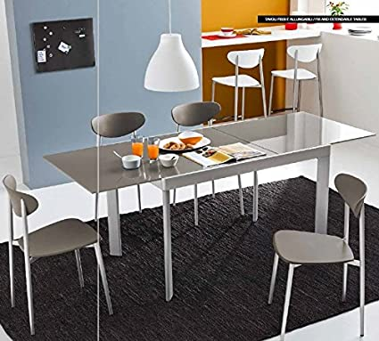 Calligaris Connubia by Tavolo Plano Allungabile - Piano: Nobilitato ...