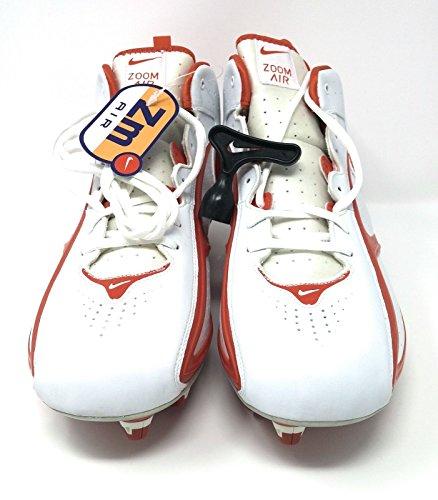 Nike Air Zoomblad Ii Voetbalschoenplaten 310936 181 Wit / Oranje Flitser