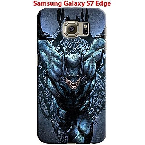 Batman & League of Justice for Samsung Galaxy S7 Edge Hard Case Cover (Bat23) Sales