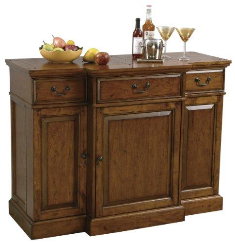 Howard Miller 695-084 Shiraz Wine & Bar Console (Cart Bar Console)
