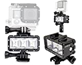 ADIKA 40m Waterproof Light Wide Angle Light LED Underwater Light for Gopro Light Spot Flood Light for Gopro Lighting for Gopro Dive Light for GoPro Hero 2018 Hero 6 Hero 5 Hero 4 Hero 3 Hero 3+ SJCAM