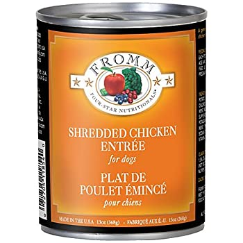 Fromm Shredded Beef In Gravy 12 Ounce Cans Case Of 12