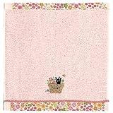 kiki's delivery service Wash towel 34×36cm Flower basket (Import from Japan)