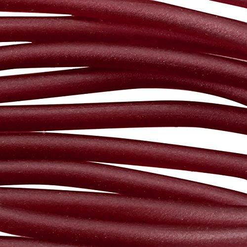Soft Glass Tubing 2.5mm Ruby (10 Foot Piece) (Soft Glass Tubing)