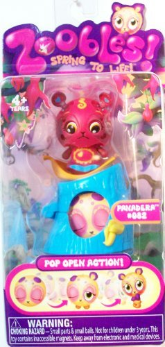 Single Pack Zoobles Azoozia Collection - PANADERA #082