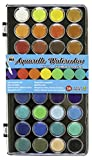 Niji Yasutomo Aquarelle Watercolors, 36 Colors