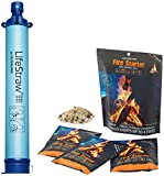 Sporting Goods : LifeStraw Water Filter + InstaFire Fire Starter. The Perfect Hiking, Backpacking, Camping, Travel, Hunting, Fishing & Emergency Preparedness Bundle!