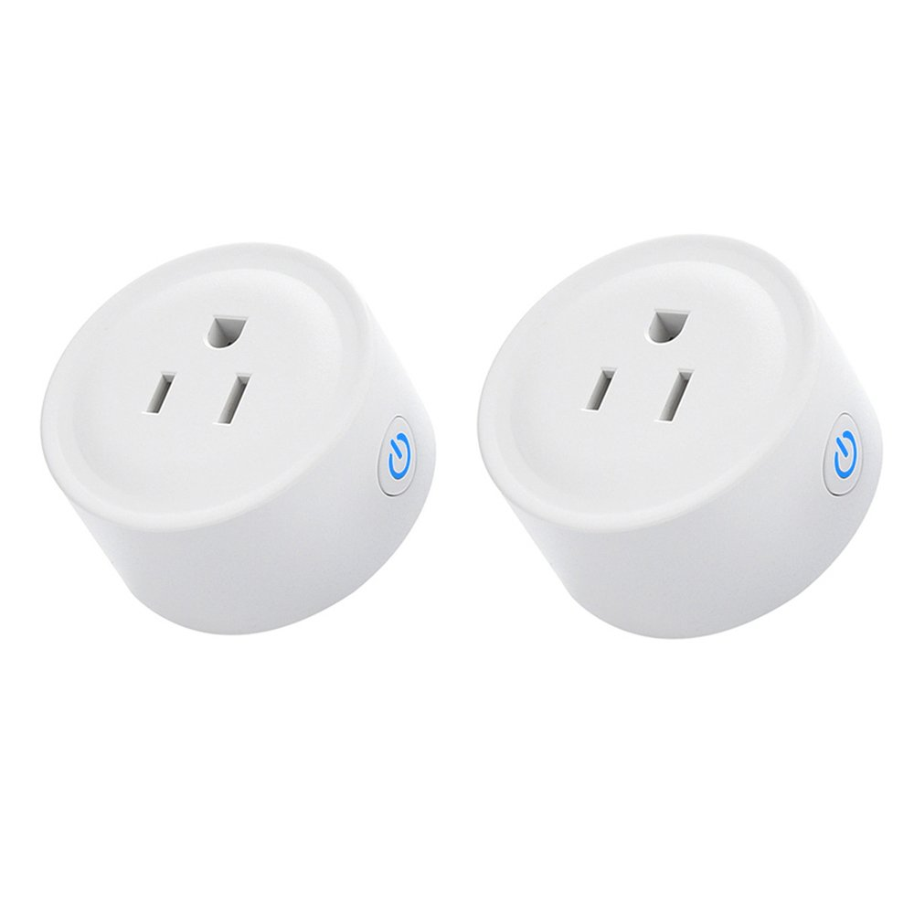 Smart Plug, Autoday Mini Wi-Fi Socket Outlet Compatible with Alexa Echo/dot Compatible with Google Home Assistant IFTTT, Remote Control Your Devices from Anywhere, No Hub Required