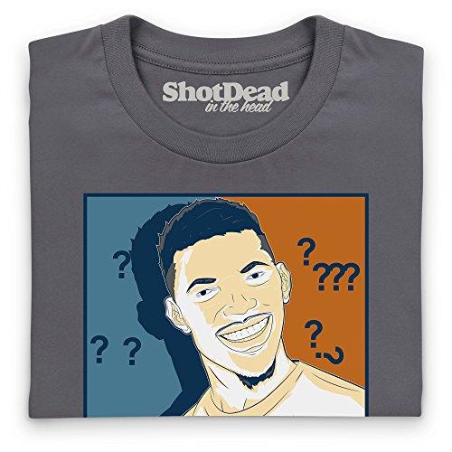 Confused Nick Meme Camiseta, Para mujer Gris marengo