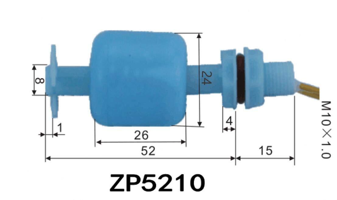 Mini Sensor de Nivel de Agua l/íquido Tanque con Sensor de Agua l/íquido Flotante Haljia Interruptor de flotaci/ón Vertical