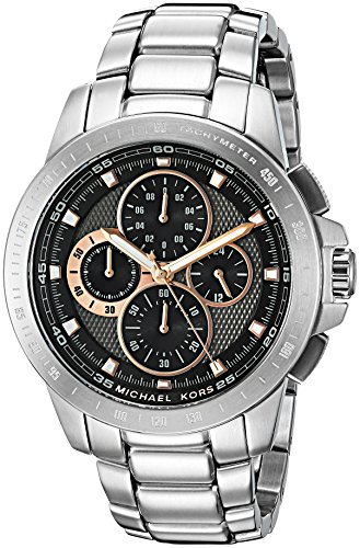 Michael Kors Men's Ryker Silver Watch MK8528