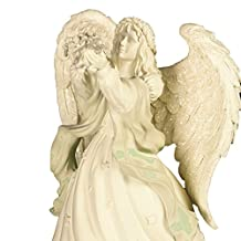 AngelStar Plays Always in My Heart Musical Angel Figurine, 6-3/4-Inch Tall