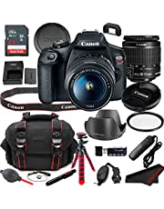 $529 » Canon EOS Rebel T7 DSLR Camera Bundle + 18-55mm Lens | Built-in Wi-Fi|24.1 MP CMOS Sensor |DIGIC 4+ Image Processor and Full HD Videos + 64GB Memory (19pcs)