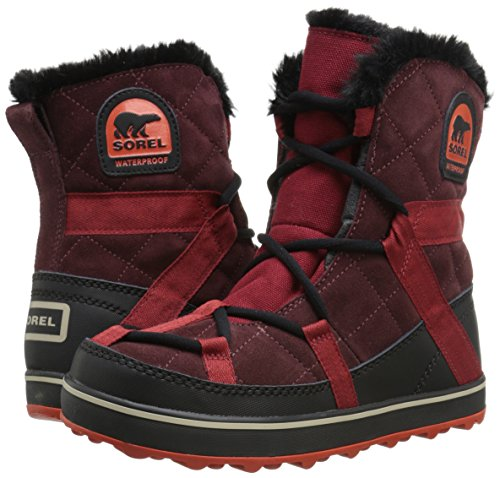 Sorel Glacy Explorer Shortie, nero, 37.5 EU