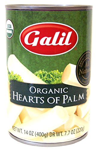 Price comparison product image Galil 100% Organic Whole Hearts of Palm 14-Ounce Can