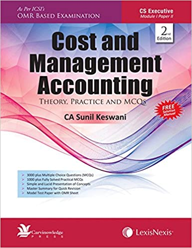 Buy Cost And Management Accounting-Theory, Practice And Mcqs Book