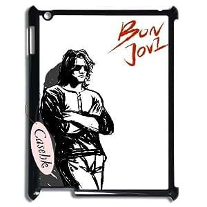 Casehk High Quality Cell Phone Case for iPad 2,3,4, Bon Jovi iPad 2,3,4 Best Case, Bon Jovi Custom Cover Case