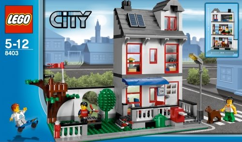 lego city maison moderne avie home. Black Bedroom Furniture Sets. Home Design Ideas