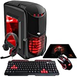 Pc Gamer G-fire Htg-349 Amd A6 7400k 8gb (radeon R5 2gb Integrada) 1tb Windows 10 - Vermelho