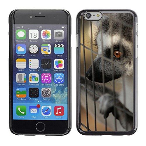 """Bild Hart Handy Schwarz Schutz Case Cover Schale Etui // M00133511 Tiere Caged Tier Natur // Apple iPhone 6 PLUS 5.5"""""""