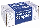 Fabric & Garden Staples Attaches Landscape Fabric and Turf to Soil (4 inches x 1 inch) 75 Staples