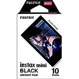 Fujifilm Instax Mini Film, Black (10 Exposures)