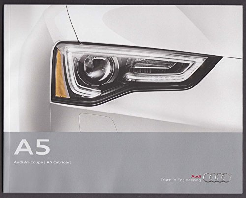 2013 Audi A5 Coupe sales catalog by The Jumping Frog