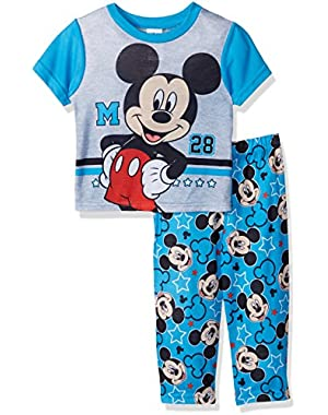 Disney Boys' Mickey Mouse 2-Piece Pajama Set