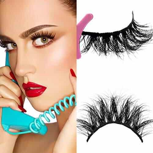 459c882574e 100% Siberian Fur Fake Eyelashes Hand-made False Eyelash Mink 3D Lashes Hand -
