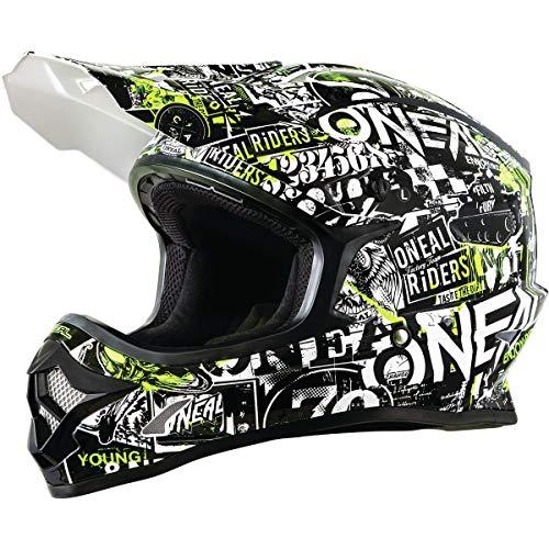 ONeal Unisex-Adult Off-Road Style 3 SRS Helmet Attack BLK/HI-VIZ M (med)
