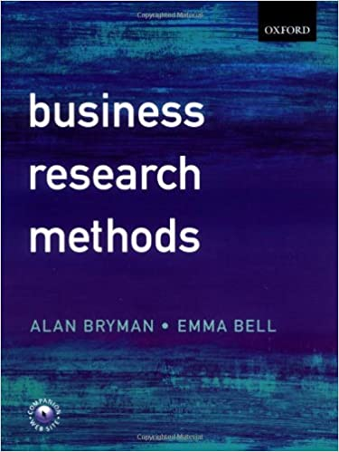 Business research methods alan bryman emma bell 9780387987101 business research methods alan bryman emma bell 9780387987101 amazon books fandeluxe Image collections