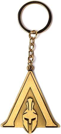 Close Up a832780/Assassin s Creed Odyssey Llavero Logo Multicolor