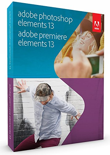 Adobe Photoshop & Premiere Elements 13 [Old Version] by Adobe