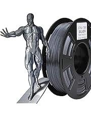 Stronghero3D desktop FDM 3D printer filament pla metallic grijs 1,75 mm 1 kg (2,2 lbs) afmetingen nauwkeurigheid van +/-0,05 mm