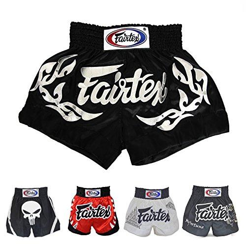 Fairtex Muay Thai Boxing Shorts (Eternal Silver BS0647,L)