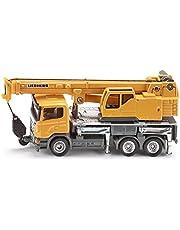 Siku  Scania & Liebherr Telescopic Crane Truck - 1:87 Scale,Vehicle