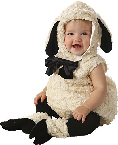 Vintage Lamb Baby Costumes (UHC Baby's Vintage Lamb Safari Animal Theme Infant Toddler Halloween Costume, 12-18M)