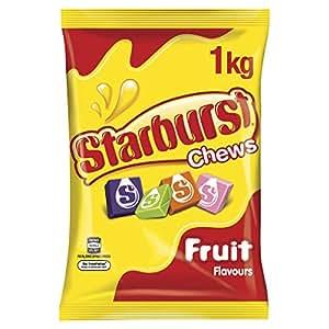 STARBURST Original Fruit Chews Lollies, 1kg Party Size Bag,  1 kg
