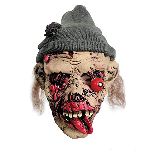 Halloween Mask Prom Dress Up Horror Face Mask Drop The Eyeball Rotten Face Horror Performance Props -