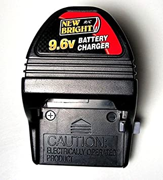 chargeur batterie 9.6v new bright
