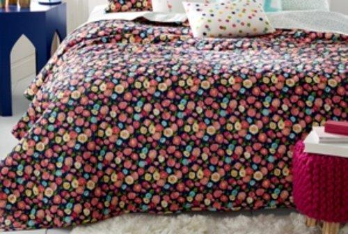 Whim by Martha Stewart Collection Pretty In Poppy Full/Queen (Martha Stewart Poppy)