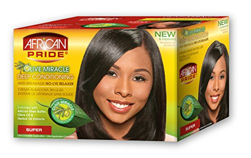 (African Pride Miracle Deep Conditioning Relaxer System Super)